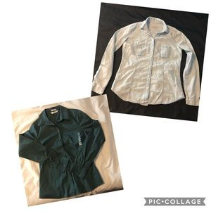 Old Navy & LOFT Button Down Shirts - size small